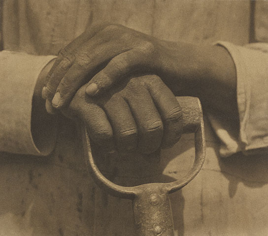 Hands Resting on a Tool, Tina Modotti, 1927