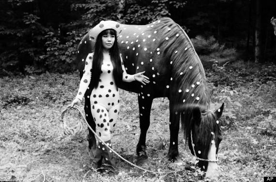 Horse Play, Yayoi Kusama, 1967